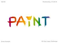 Paint Logo (30 Day Logo Challenge)