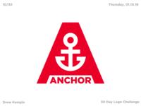Anchor Logo (30 Day Logo Challenge)
