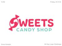 Sweets Logo (30 Day Logo Challenge)