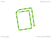 BookWorm Logo (30 Day Logo Challenge)