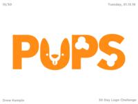 Pups Logo (30 Day Logo Challenge)