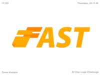 Fast Logo (30 Day Logo Challenge)