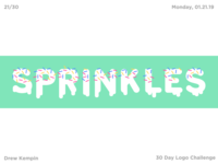 Sprinkles Logo (30 Day Logo Challenge)