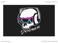 Deadbeat Logo (30 Day Logo Challenge)