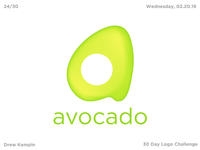 Avocado Logo (30 Day Logo Challenge)