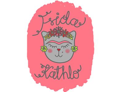 Frida Kathloo paint tool sai illustration patel krita beginner kathlo frida cat