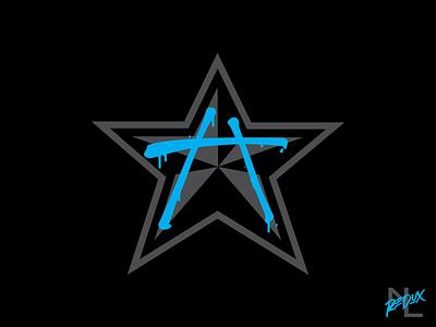 Harlem Stars negro league star branding logo sports baseball new york tagging graffiti nyc harlem