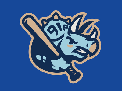 NC for NC Dinos korea north carolina angry horns design concept bat logo baseball sports dinosaur dinos nc