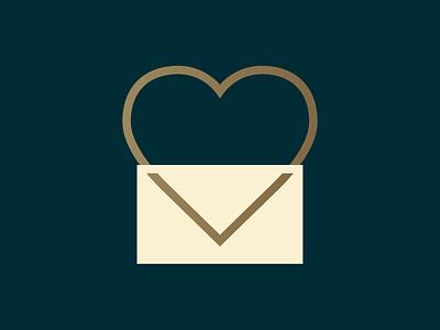 Thanks Mail Folks! illustration design logo mail usps postal service support heart love envelope mailman