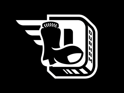 Durham Black Sox north carolina letterform sock sox negro leagues durham illustration design branding baseball logo sports