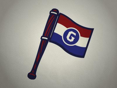 Governors Baseball Secondary LCBL governors baseball flag g sports bat lcbl