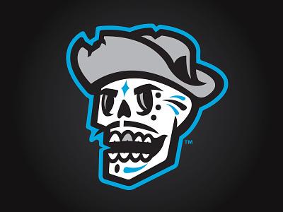 Las Vegas Reyes de Plata (MiLB) reyes silver kings milb latino logo sports skull baseball vegas