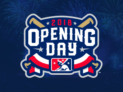 2018 MiLB Opening Day sports stars bats milb baseball day opening