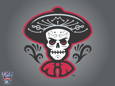 Las Mariachis de Nuevo México (MiLB) logo sports copa baseball albuquerque mexico new mariachi