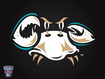 Cangrejo Fantasmas de Chesapeake (Bowie) MiLB logo sports milb chesapeake maryland baseball crabs ghost