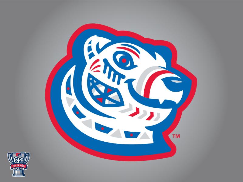 Pawtucket Osos Polares (MiLB) logo sports puerto rican dominican graffiti polar bear baseball pawtucket