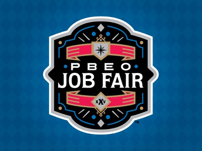 2018 PBEO Job Fair mlb milb ribbon vegas star plate crown baseball