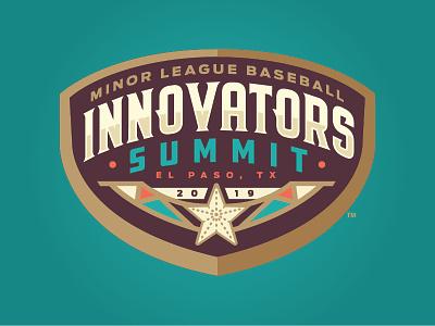 MiLB Innovators Summit badge star texas el paso logo sports milb baseball summit innovator