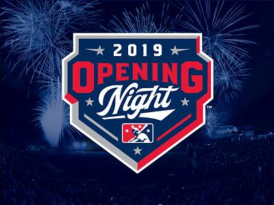 MiLB Opening Night 2019 base opening night night milb logo baseball sports