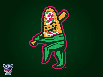 Clinton Elotes (MiLB) copa logo baseball sports milb clinton iowa elotes