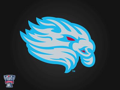 El Viento de Lancaster (MiLB) monster wind copa milb logo baseball sports lancaster
