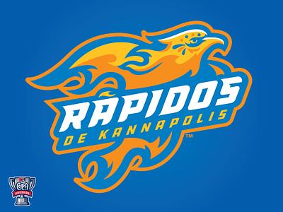 Rápidos de Kannapolis - Full (MiLB) pattern rise up flames phoenix copa milb logo baseball sports