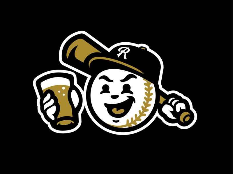 Play Ball! Pilsner north carolina mlb raleigh trophy beer can beer design bat logo baseball sports
