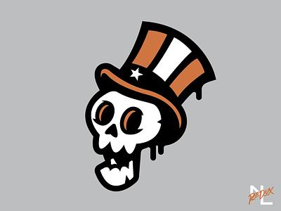 New York Black Yankees concept streetart yankees new york skull negro leagues design branding logo baseball sports