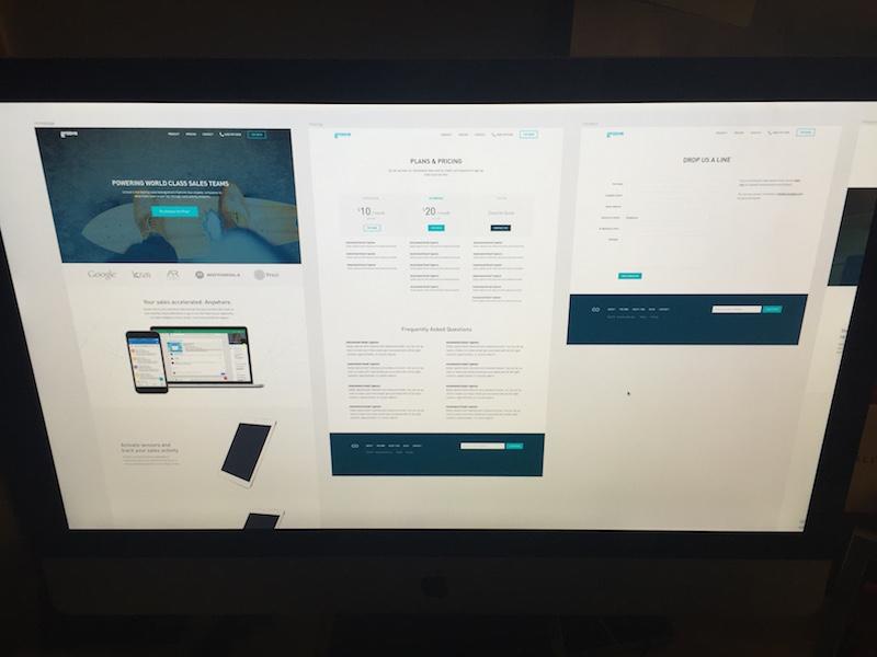 Groove Website Redesign website redesign wip landing page sketch marketing