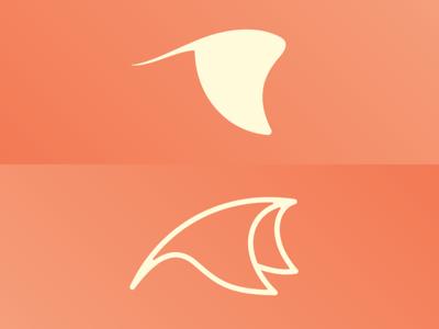 Manta Ray Logo Exploration