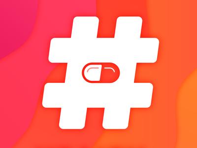 Hashtag Health Podcast Cover Art