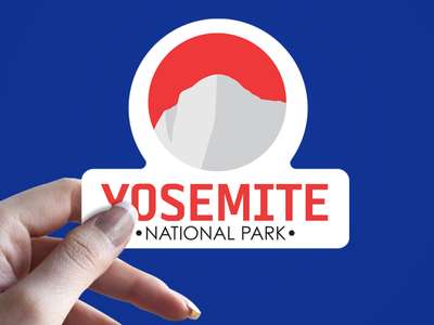 Yosemite National Park Logo design adobe photoshop typogaphy branding adobe illustrator logo