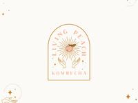 Living Peach Kombucha
