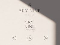 Sky Nine Designs Logo Identity