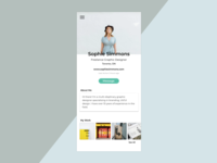 UI Challenge 006 - User Profile