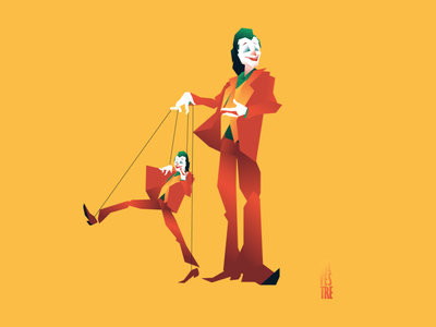 We are all joking and dacing part 02 header illustration design character character design illustration puppet joker movie joker