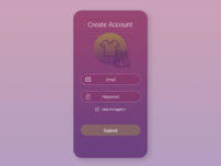 Daily UI Challenge #001 - Signup