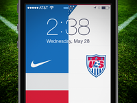 World Cup Lock Screen - USA