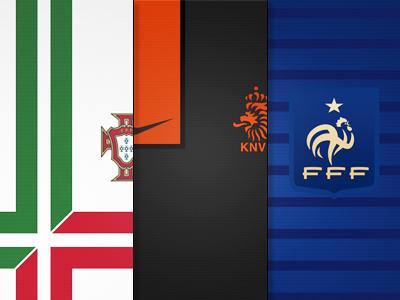 Euro 2012 Team Kit Wallpapers retina green euro uefa football soccer nike portugal netherlands france jersey kit shirt wallpaper ios retina green red orange black blue