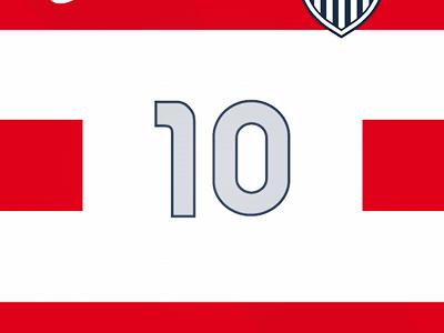 New US Men's Soccer Home Kit Wallpaper usa red white blue hoops wallpaper soccer football jersey