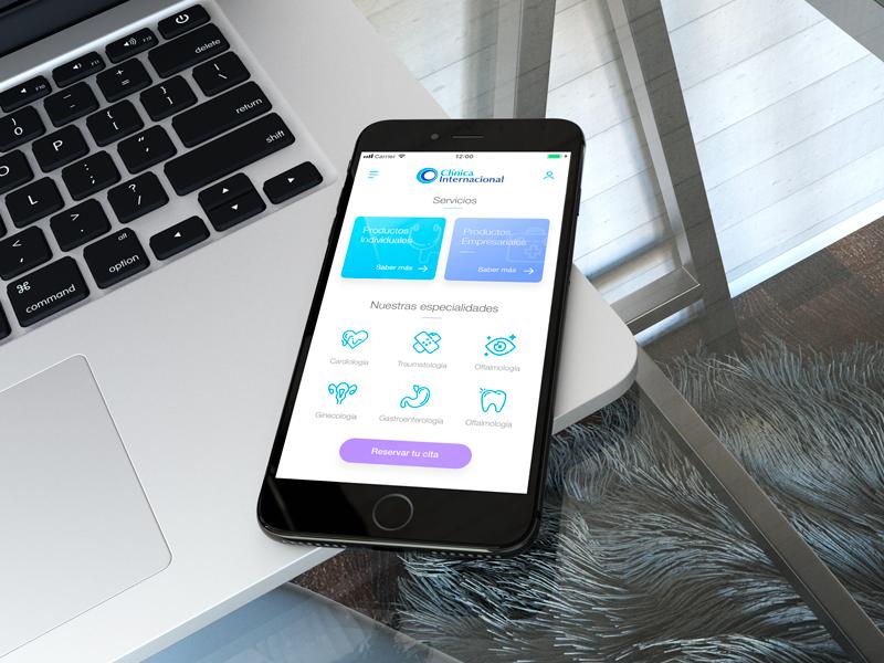 Medical App app design medical app ui ux
