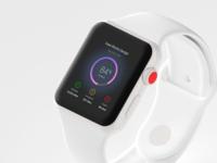 Dashboard in Apple Watch