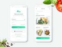 Vita App UI Design - Daily UI Challenge #3