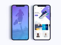 Nike App eCommerce - Daily UI Challenge #5
