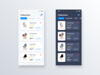 Collections Chair eCommerce App - Daily UI Challenge #15