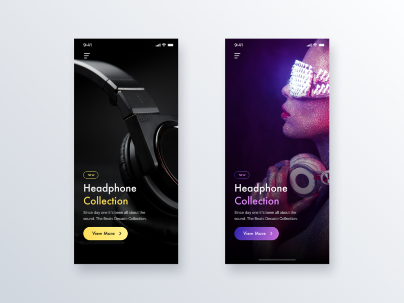 Color Style App Design - Daily UI Challenge #16 inspiration user interface ecommerce design login ui  ux ui  ux design iphone x interaction home app ecommerce design detail minialista ui ios ux design app design ui design ux