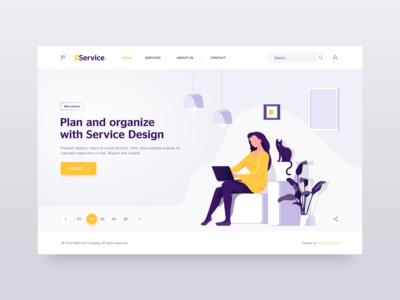 Landing Page - Service Design
