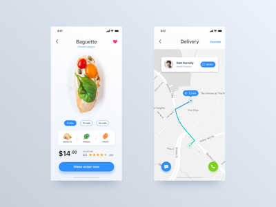 Delivery App - Daily UI Challenge #20 ecommerce design design user interface ecommerce detail iphone x interaction home app ui  ux inspiration ui  ux design minimalist ui ios app design ux design ui design ux