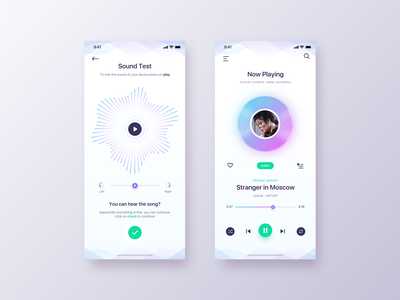 Play Music App - Daily UI Challenge #21 interaction ui  ux inspiration detail ios ux design app design ui design ux app concept music album music music app