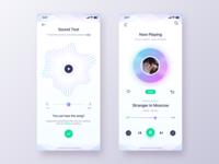 Play Music App - Daily UI Challenge #21